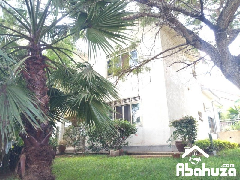 A  FURNISHED HOUSE FOR RENT IN KIGALI WITH NICE GARDEN