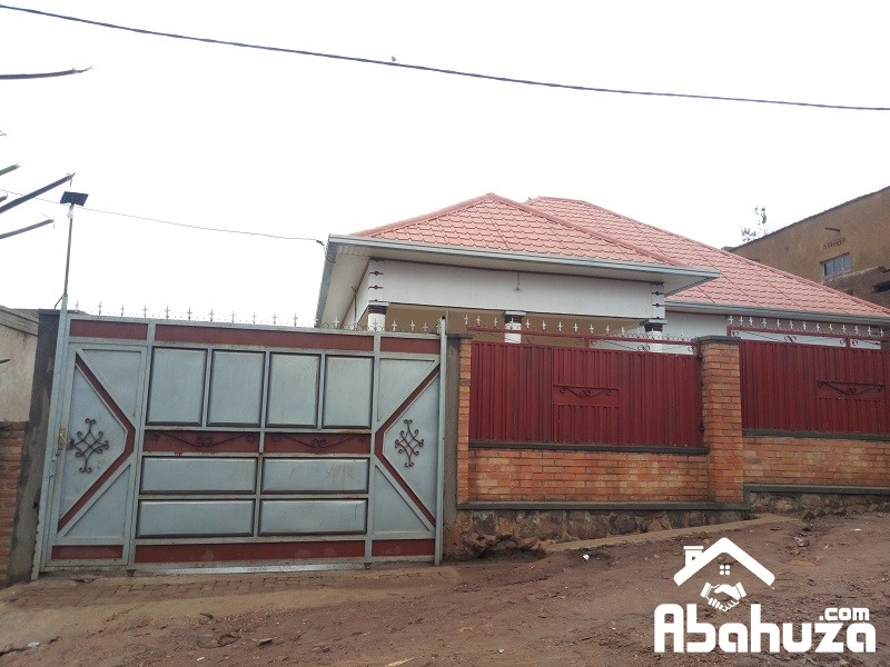 ALMOST FINISHED HOUSE FOR SALE IN KIGALI AT MASIZI