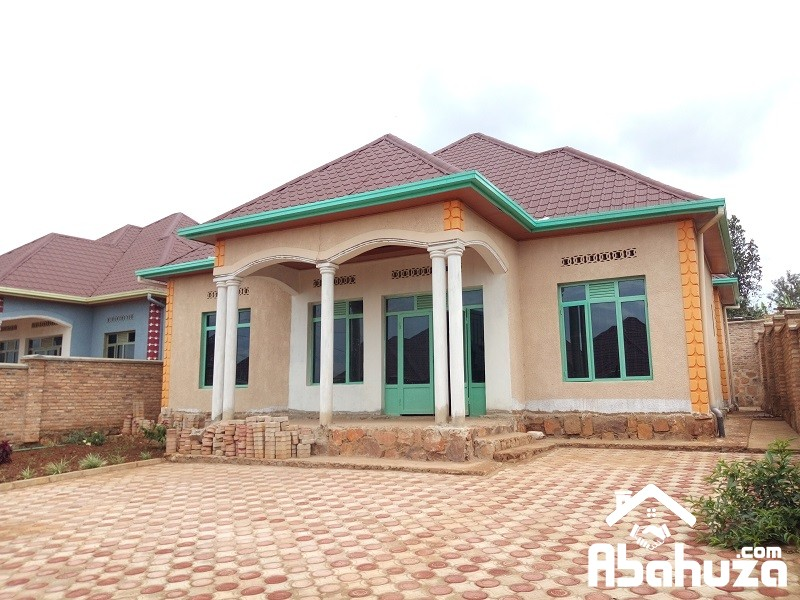 ALMOST FINISHED HOUSE FOR SALE IN KIGALI AT NDERA