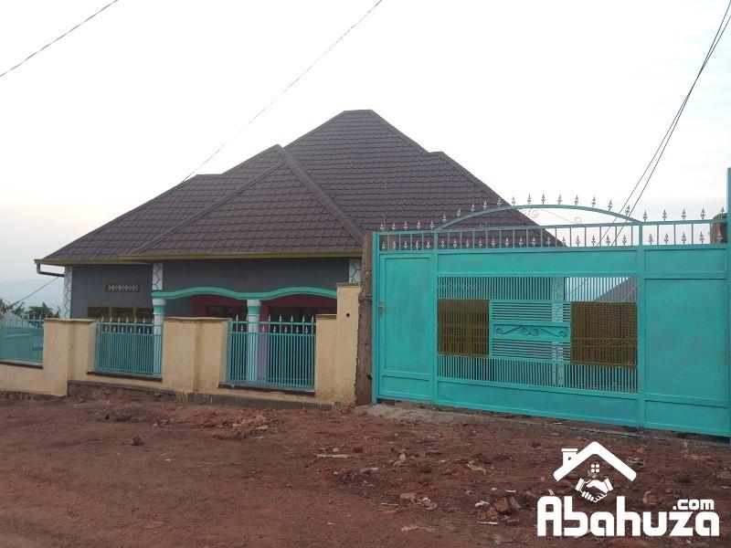ALMOST FINISHED HOUSE FOR SALE IN KIGALI-KWA NAYINZIRA