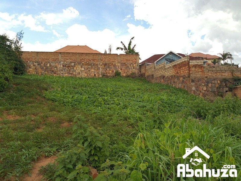 A NICE PLOT WITH PANORAMIC VIEW FOR SALE IN KIGALI AT GISOZI