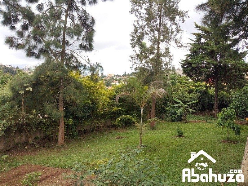A RESIDENTIAL PLOT FOR SALE IN KIGALI AT GISHUSHU