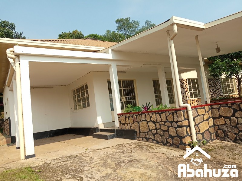 A 4 BEDROOM HOUSE FOR RENT IN KIGALI AT KIYOVU