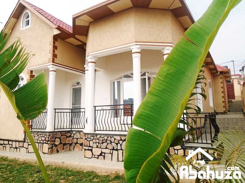 A NICE HOUSE OF 4 BEDROOMS FOR SALE IN KIGALI AT KIBAGABAGA