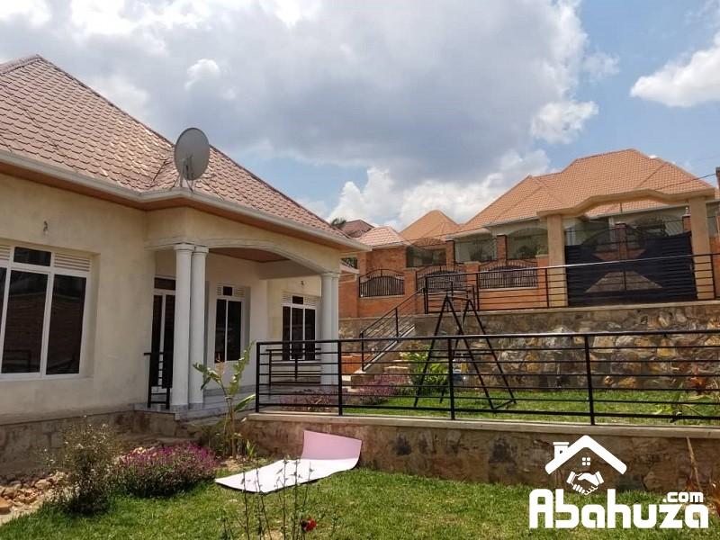 A NEW FURNISHED 4 BEDROOM HOUSE IN KIGALI AT KIBAGABAGA