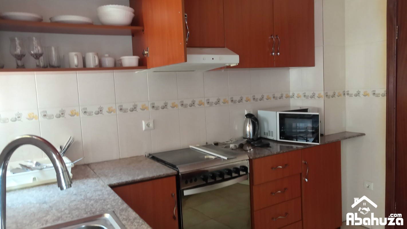 A FURNISHED ONE BEDROOM HOUSE FOR RENT IN KIGALI AT KIMIHURURA