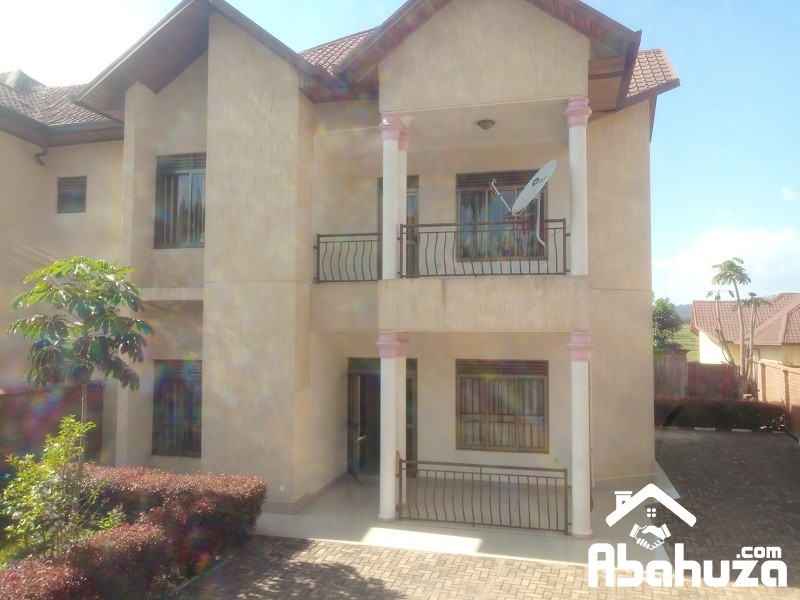 A FURNISHED 4 BEDROOM HOUSE IN KIGALI AT GACURIRO