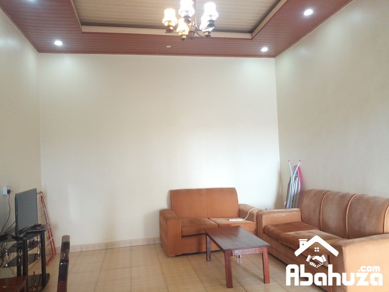 A FURNISHED 1 BEDROOM APARTMENT FOR RENT IN KIGALI AT KIMIRONKO