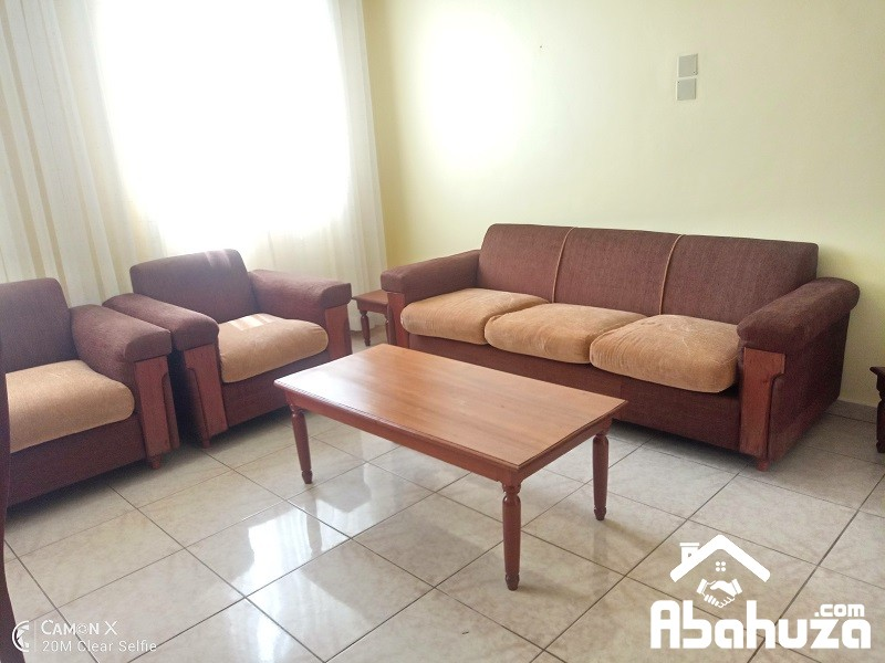 A FURNISHED APARTMENT FOR RENT IN KIGALI AT NYARUTARAMA