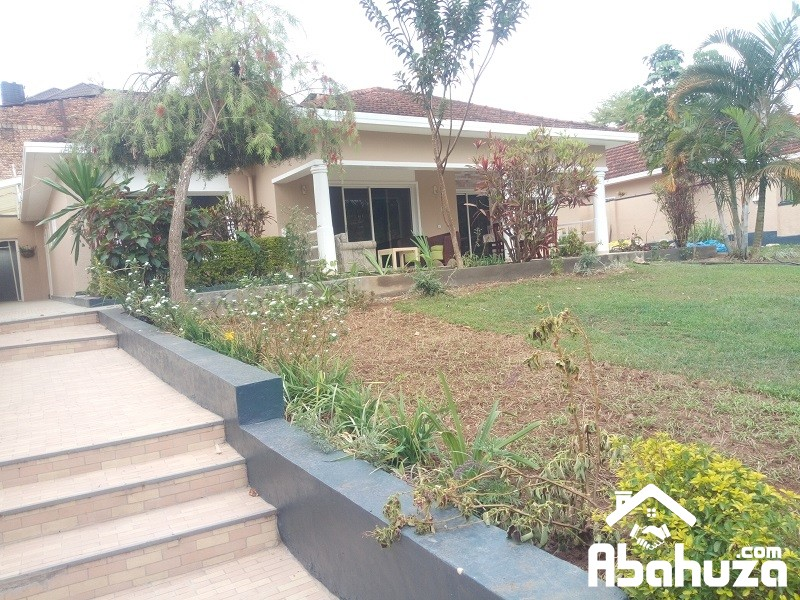 A FURNISHED 4 BEDROOM HOUSE FOR RENT AT RUGANDO