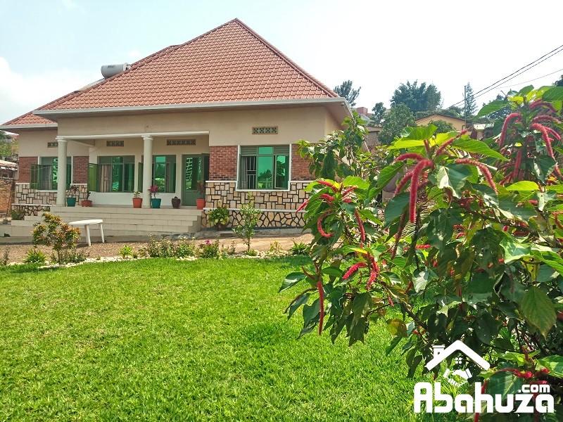 A FURNISHED 4 BEDROOM HOUSE FOR RENT IN KIGALI AT GISHUSHU