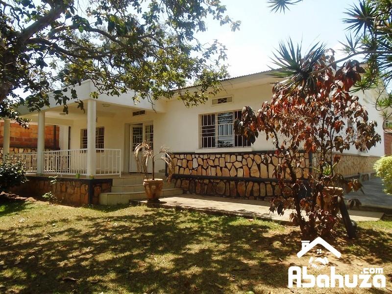 A 3 BEDROOM HOUSE FOR RENT IN KIGALI AT KIMIHURURA