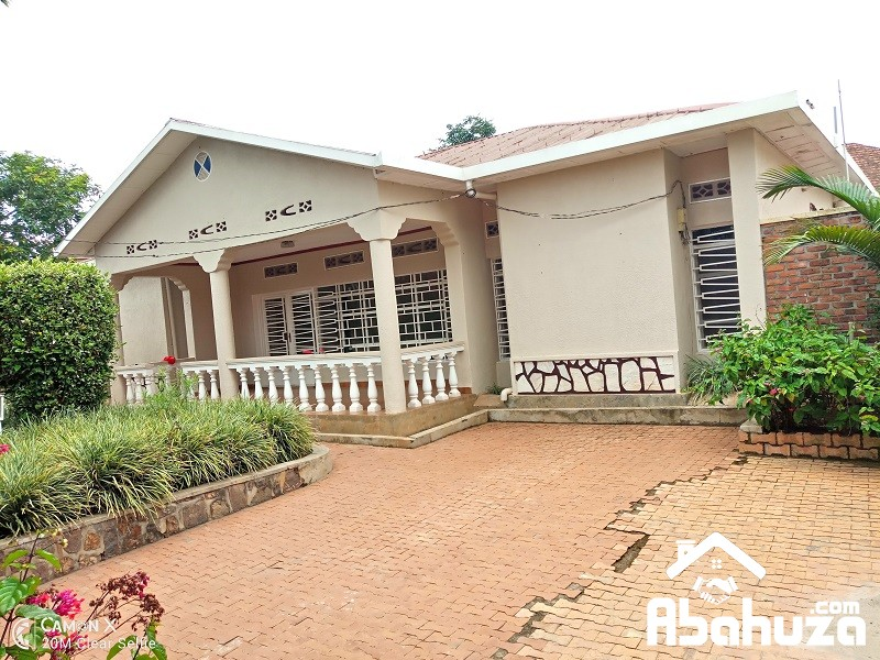 A 4 BEDROOM HOUSE FOR RENT IN KIGALI AT KAGUGU