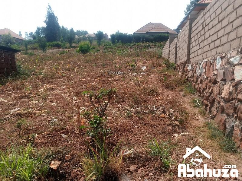 A RESIDENTIAL PLOT FOR SALE IN KIGALI AT KICUKIRO-BISAMBU